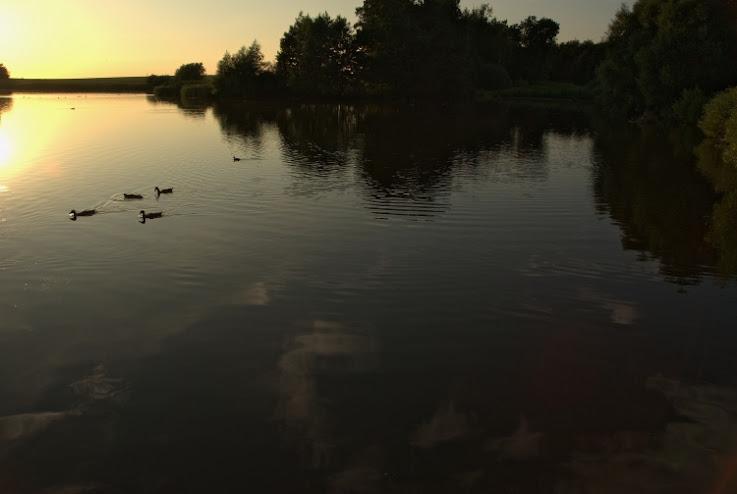 soir d'été au Danemark