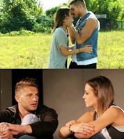 Teresa e Fabio bacio foto