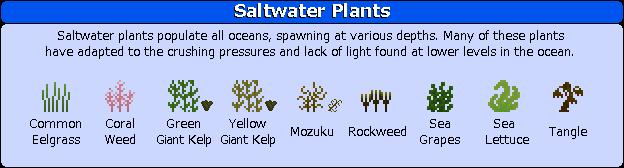 Plant Mega Pack Mod saltwater