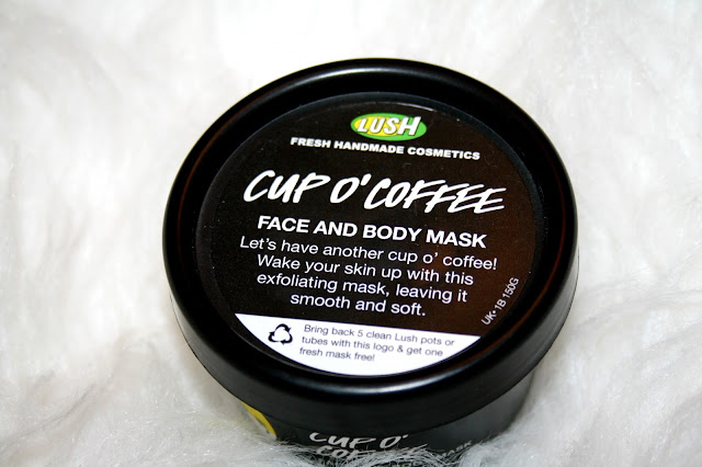 Lush Cup O'Coffee Face and Body Mask