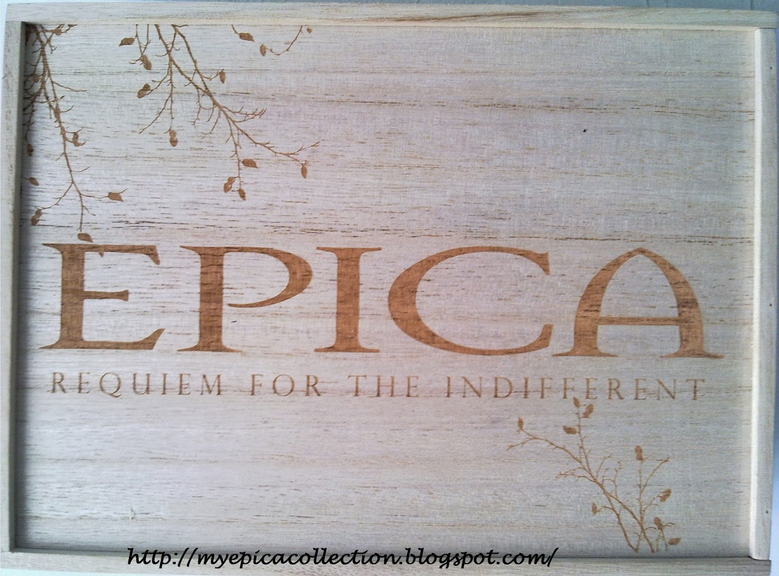 My Epica Collection Requiem For The Indifferent Strictly
