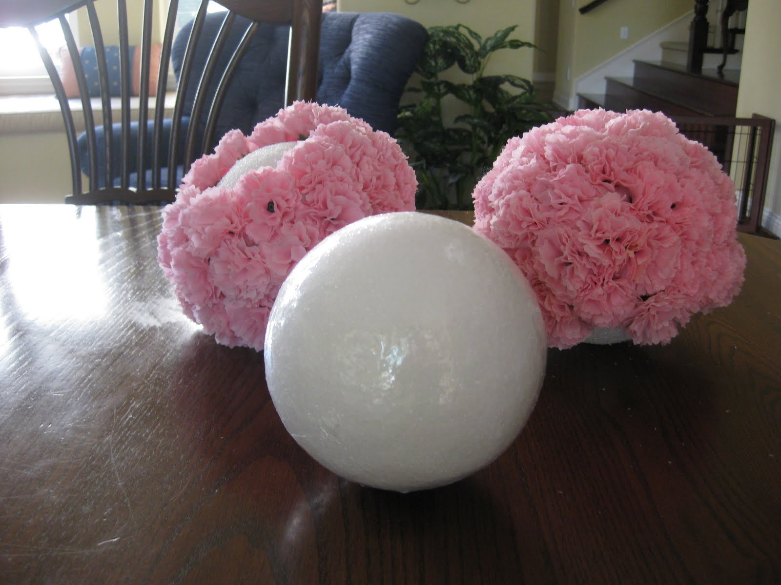 Labor Day 2011 Cali Style Flower Balls