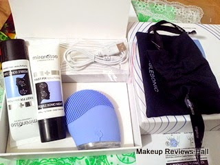 Mirenesse Pebble Sonic Skin Clearing Facial Kit Review