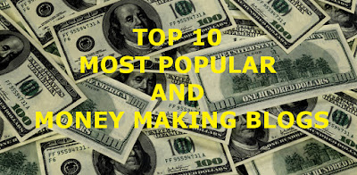 Top 10 insanely popular and profitable blogs