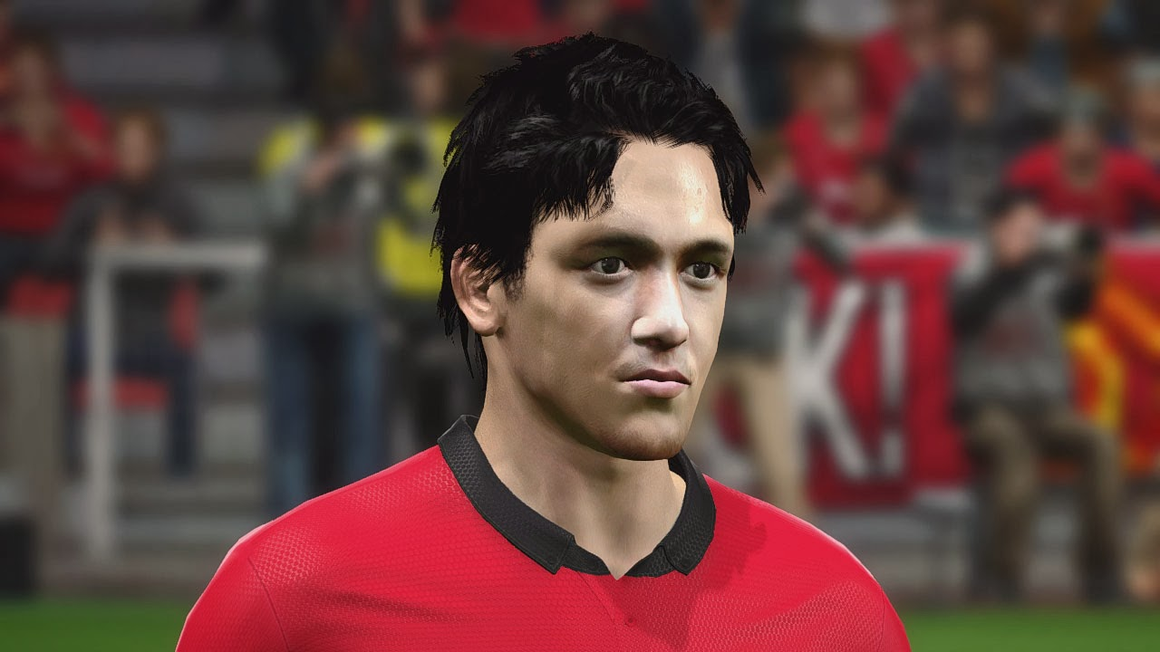 PES 2014 Irfan Bachdim Face by Zimon