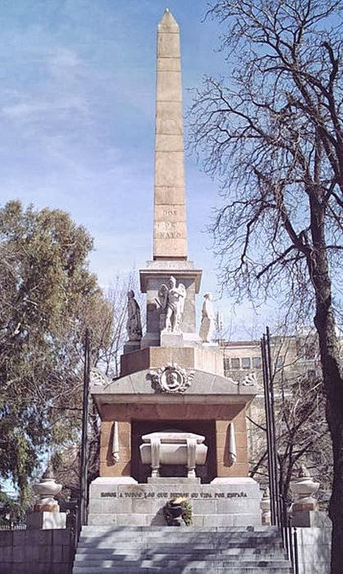 Monumento a los Caídos por España, Plaza de la Lealtad in Madrid, Spain