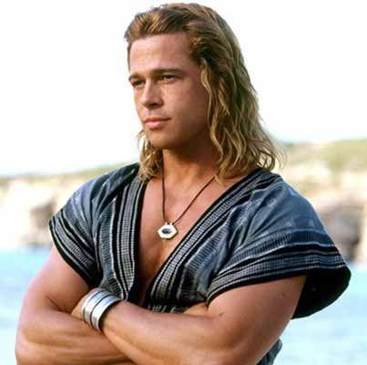 brad pitt Troy brad pitt Troy Wallpapers brad pitt Troy hair Achilles Brad Pitt Hair