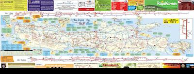 Peta Arus Mudik Hari Raya Idul Fitri
