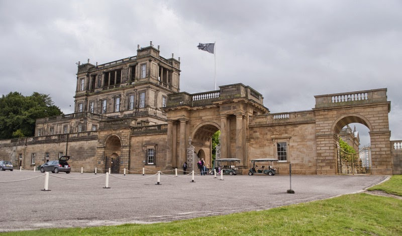 Chatsworth Gardens & House