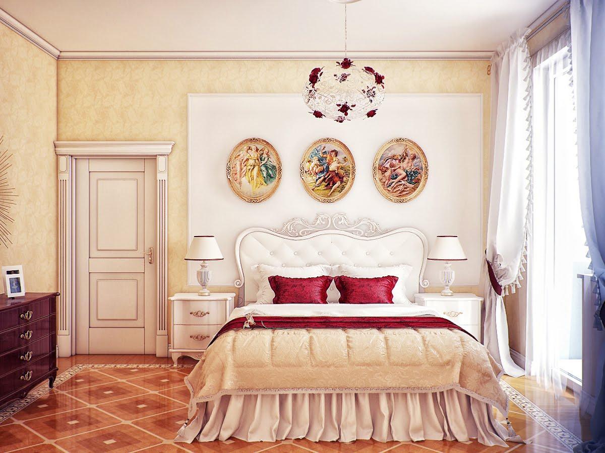 Дизайн картин в спальни