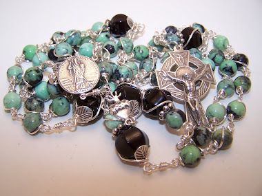 No. 144. Custom Rosary Od Saint Patrick