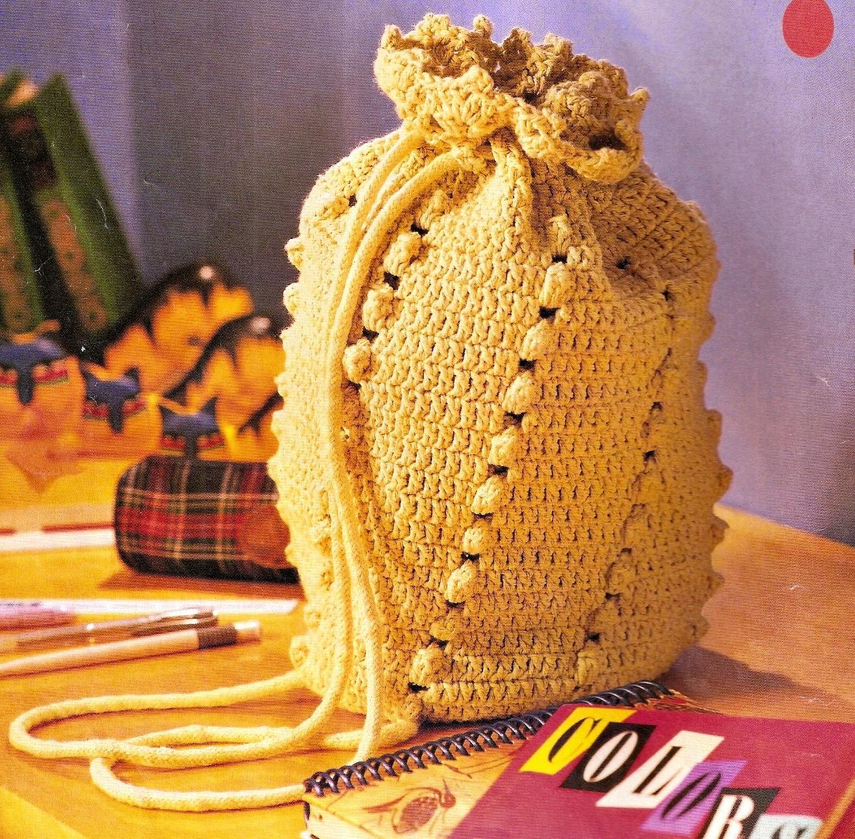 bolsas e acessorios em croche com receita