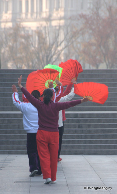 Fan Dance, The Bund