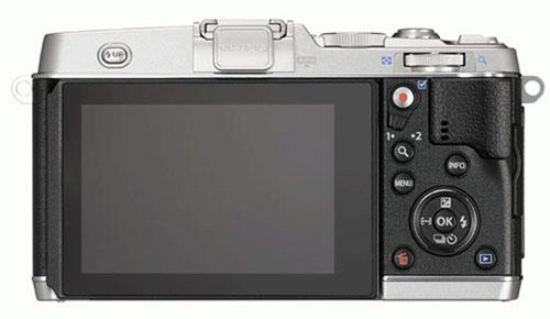 Fotografia del retro della Olympus PEN E-P5
