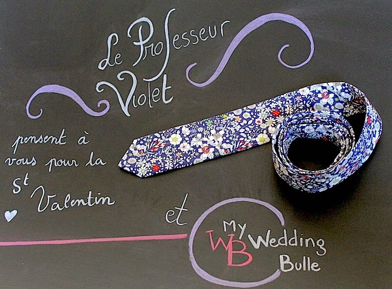 My Wedding Bulle et le Professeur Violet