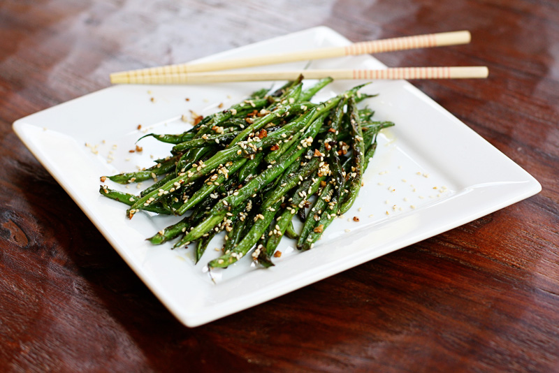 Sesame Garlic Ginger Green Beans Recipes — Dishmaps