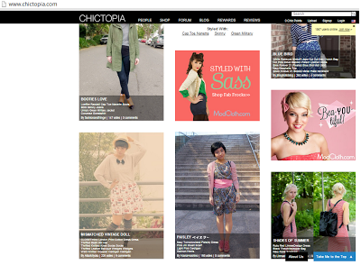 chictopia, fashion feature