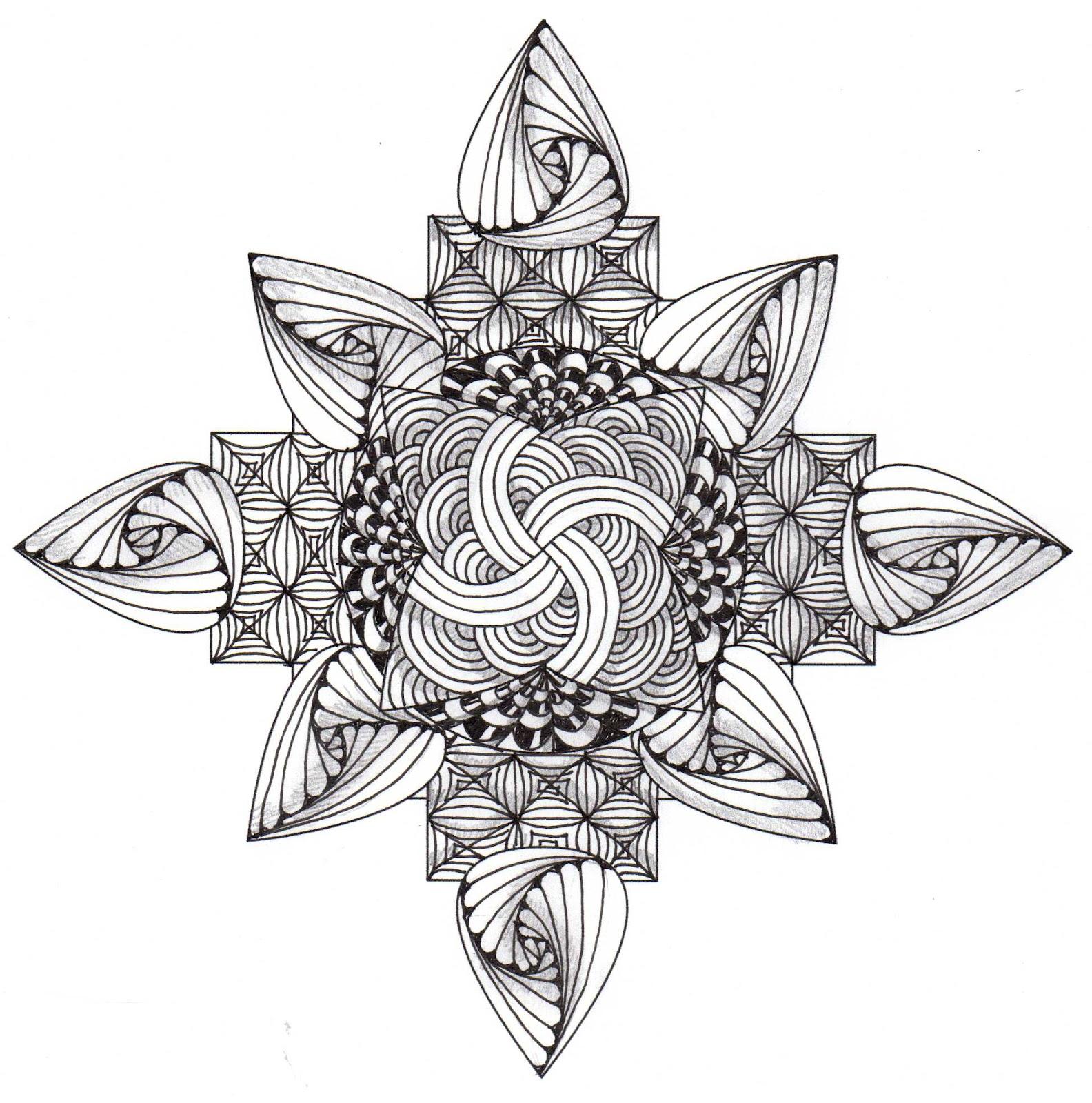 Banar Designs: Zendala template #22