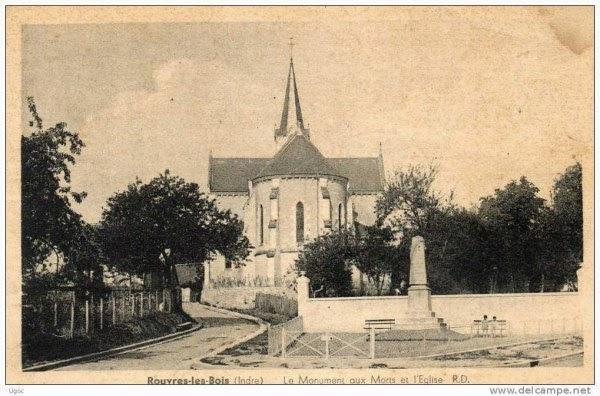 l'église et le monument