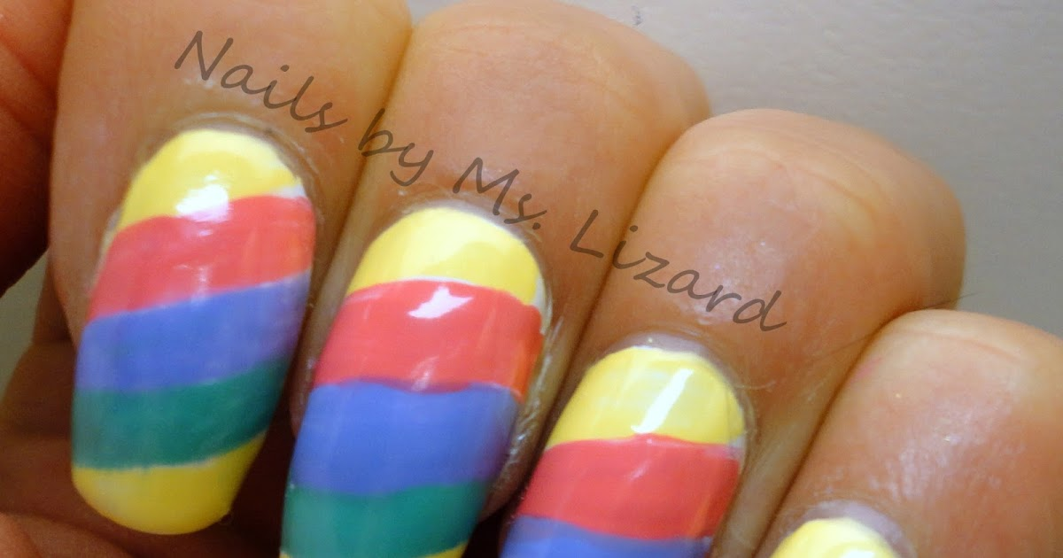 Nails by Ms. Lizard: Happy Easter: Pastel Nail Art