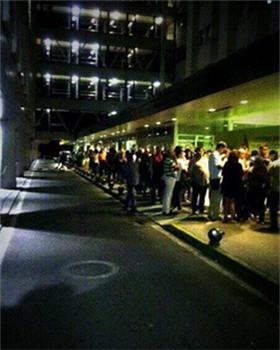colas para donar sangre a medianoche en A Coruña
