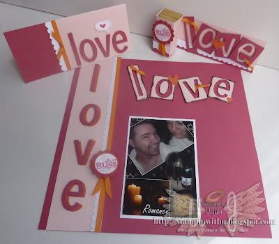 Valentines Workshop Card and Scrap Page