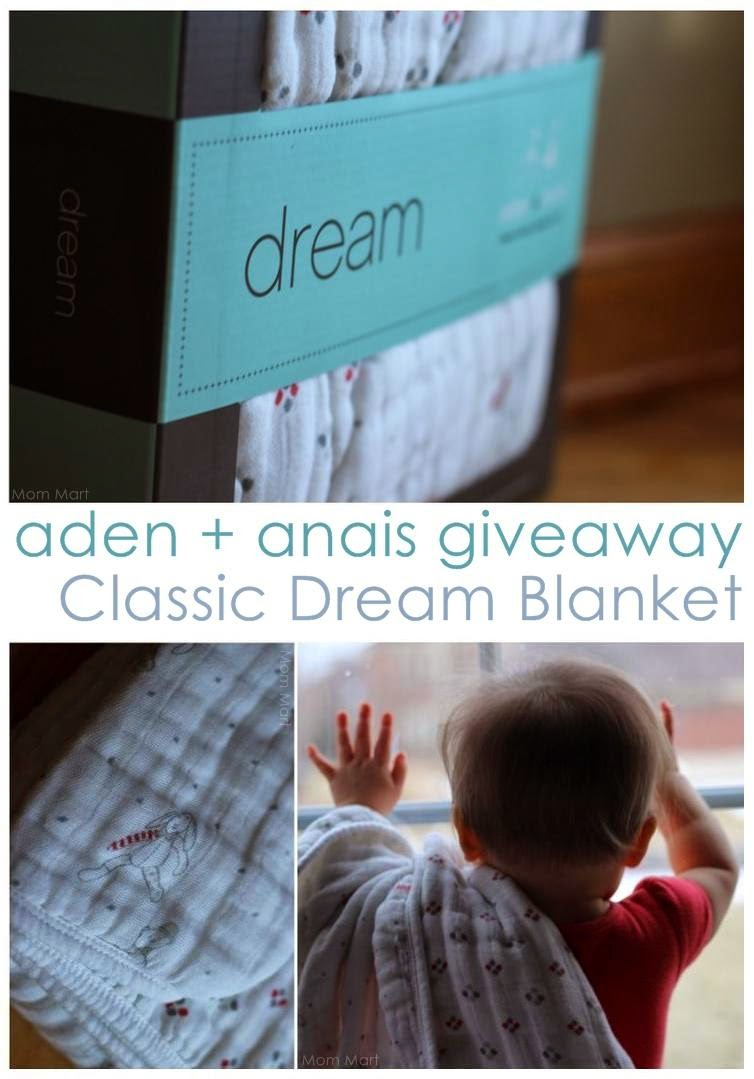 AdenAndAnais Dream Blanket #Review #Giveaway #WIN #AdenAndAnais #DreamBlanket