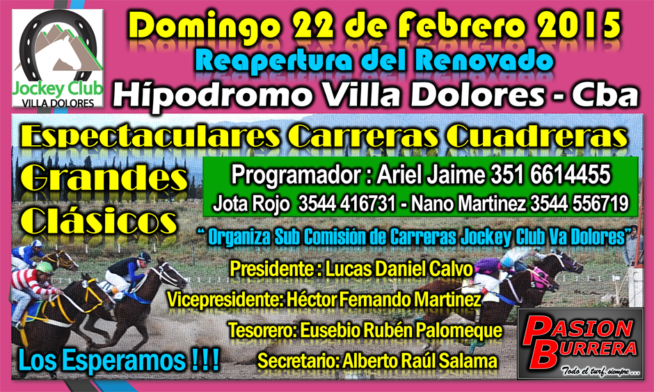 VILLA DOLORES - 22 DE FEB. 2015