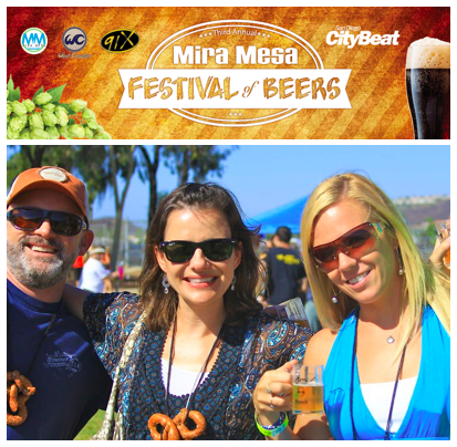 Win 2 VIP Passes for the Mira Mesa Festival of Beers