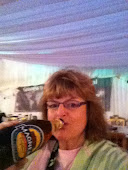Sue at Oyster Festival, Bilsborrow, England