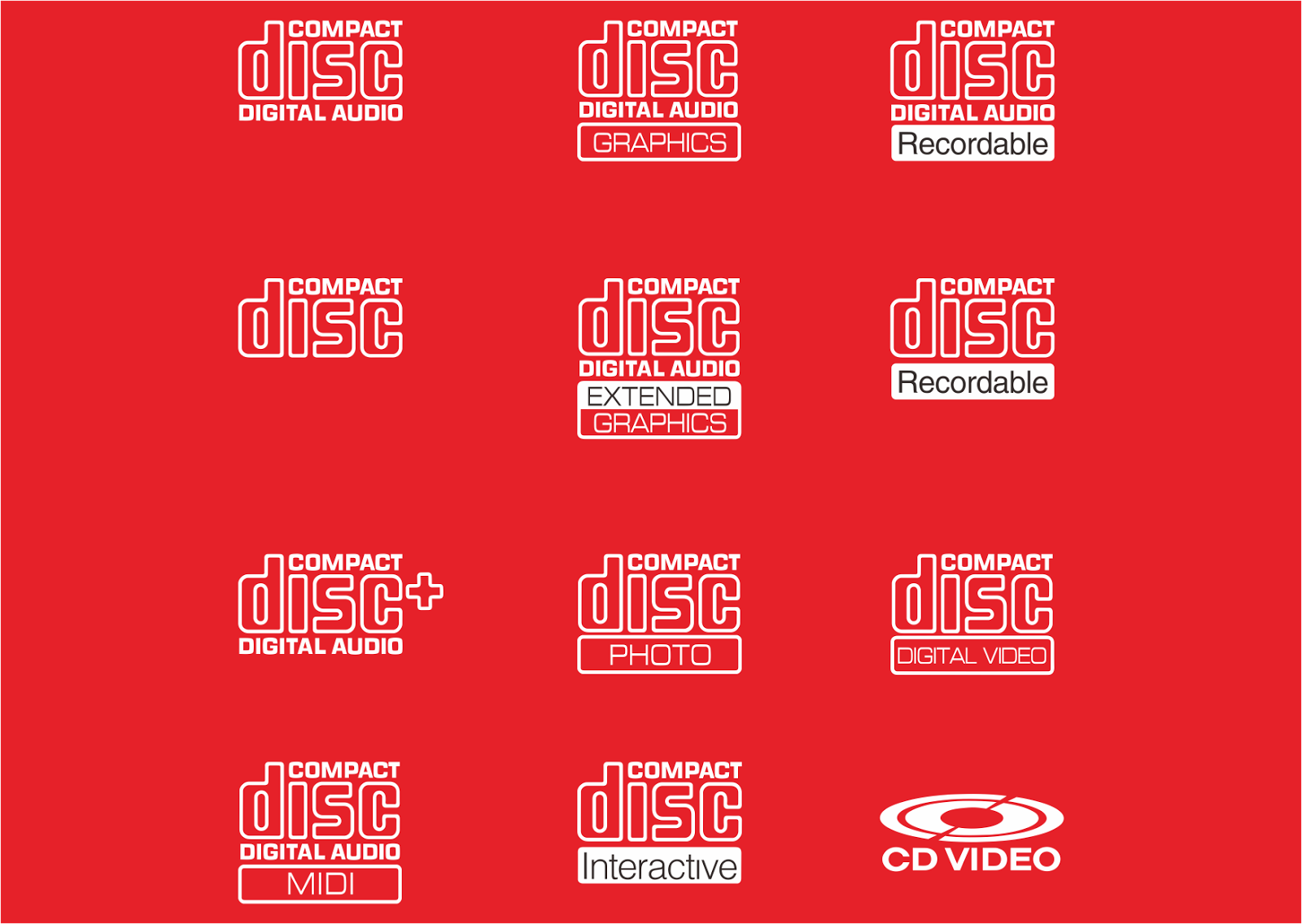 Compact Disk Logo Vector download free