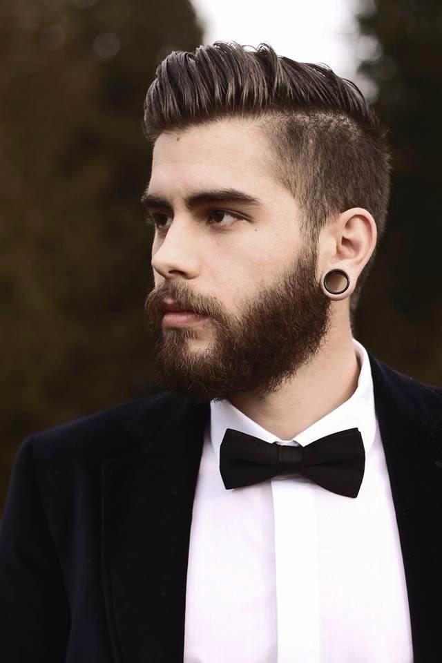 Moda cabellos peinados de hombres con barba 2015 - Moda peinados hombre ...