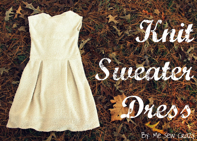 sweater dress sewing tutorial