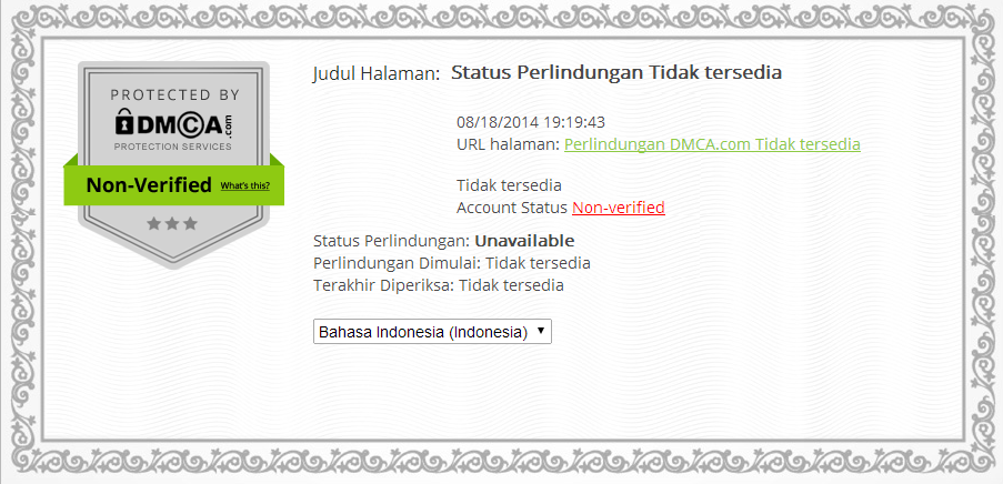 DCMA - Lindungi Konten Situs Dengan DCMA
