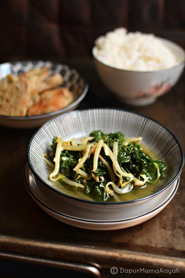 Sayur Bening Kale & Taoge
