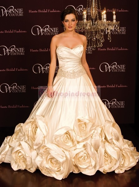Wedding Lady: Gold Bridal Gown Collection