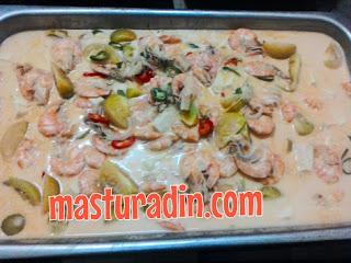 masak lemak,resepi, udang, sambal petai udang, bonda