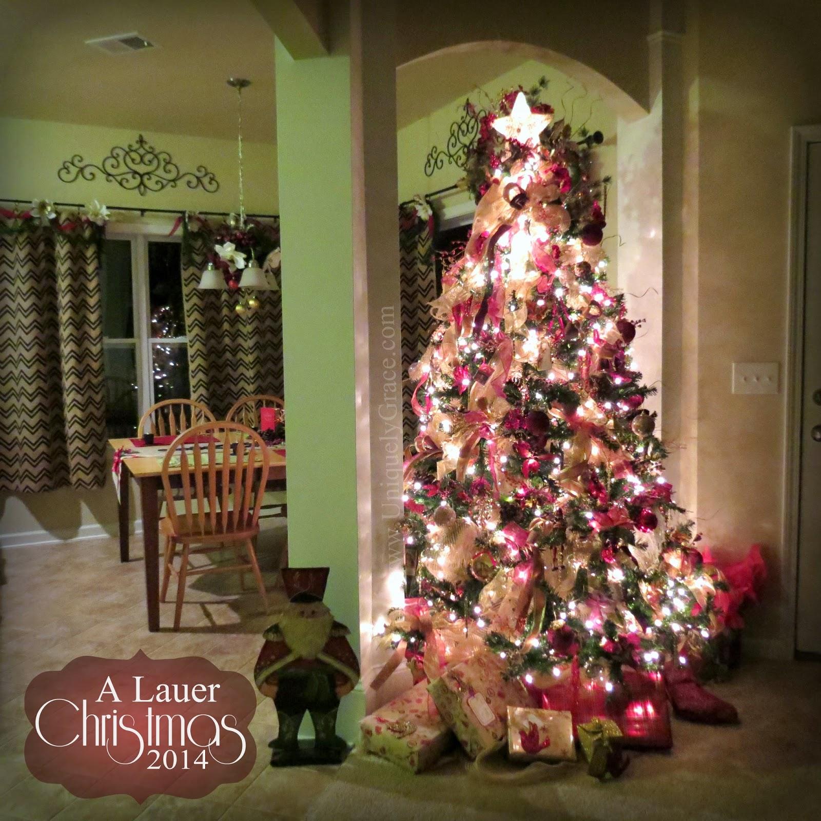 Uniquely Grace A Lauer Christmas Home Tour Cardinals Candy canes