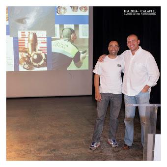 Con Pablo Vadillo en Calafell