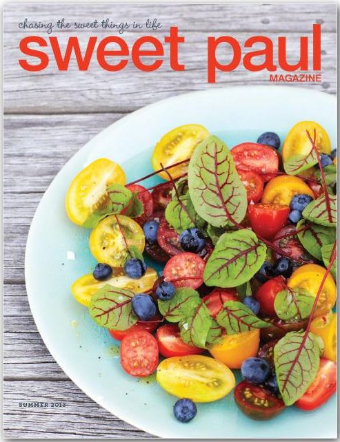 On Line Magazines | Sweet Paul Magazine via www.desiretodecorate.com