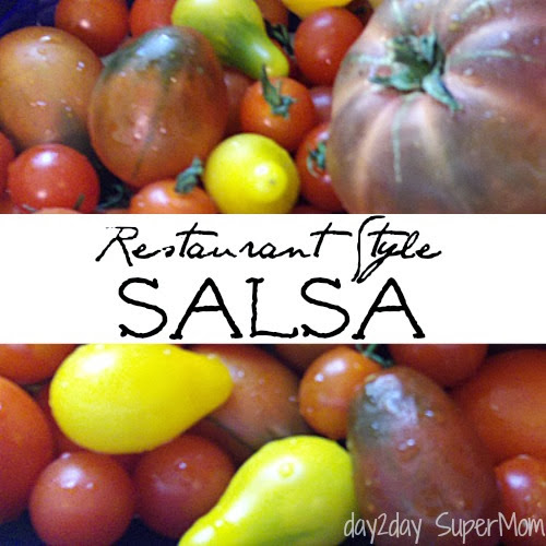 how to make your own salsa