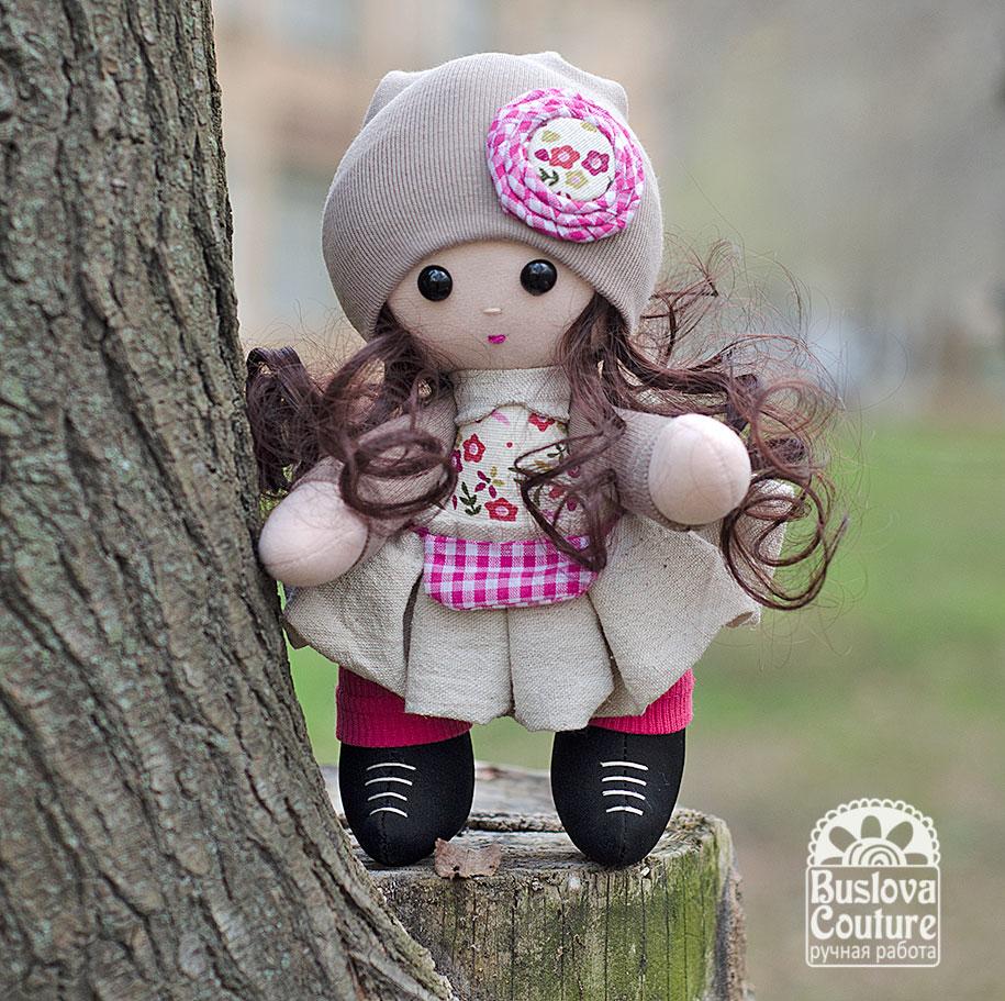 кукла, куколка, текстильная кукла, игрушка, девочка, малышка, гном
