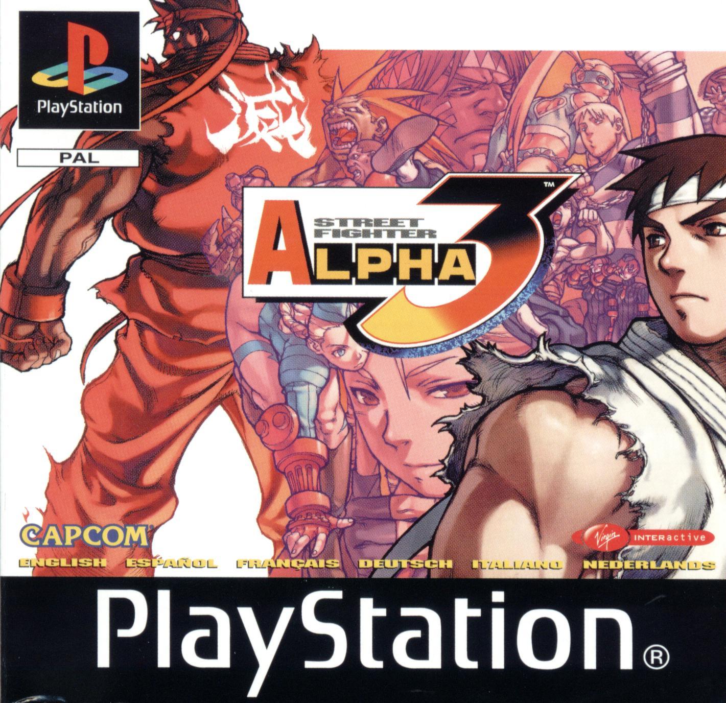 Falando um pouco sobre o Street Fighter Alpha 3