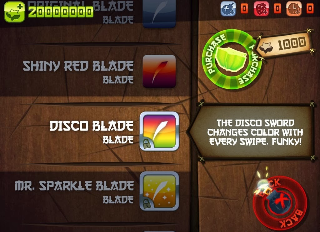 Fruit Ninja HD Game Hack