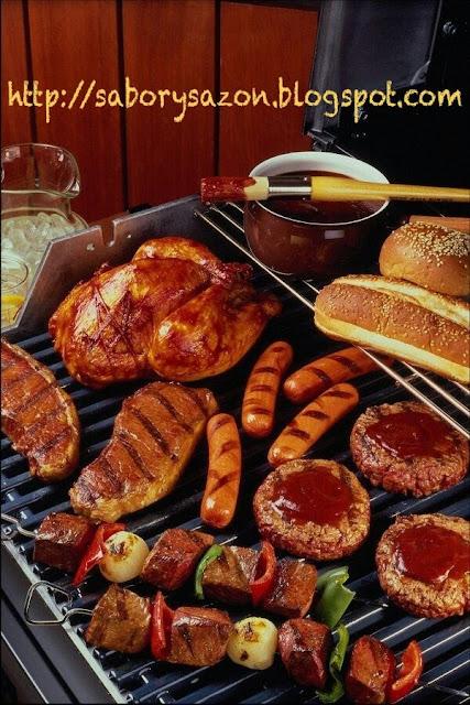 http://saborysazon.blogspot.com - Cómo hacer una parrillada de carne