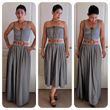 DIY Maxi Skirt and Dress