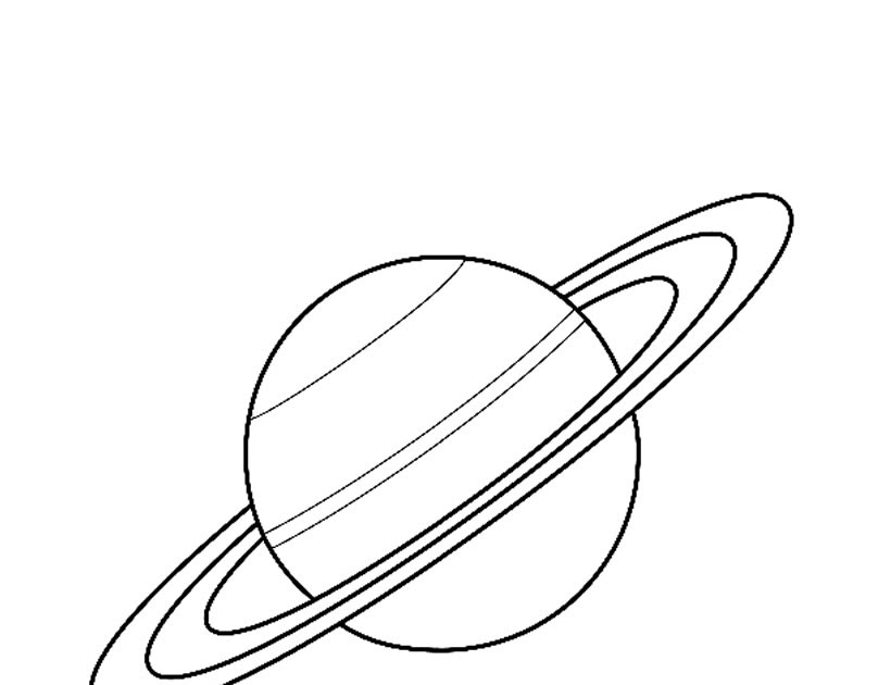 saturn pages coloring pages