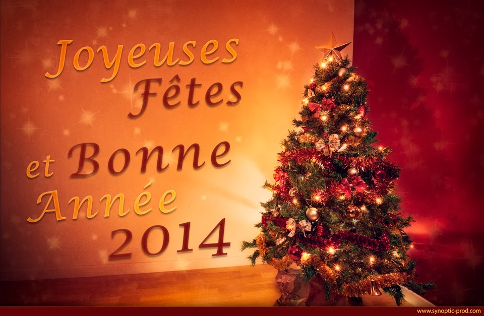 Joyeuses fêtes et bonne année 2014