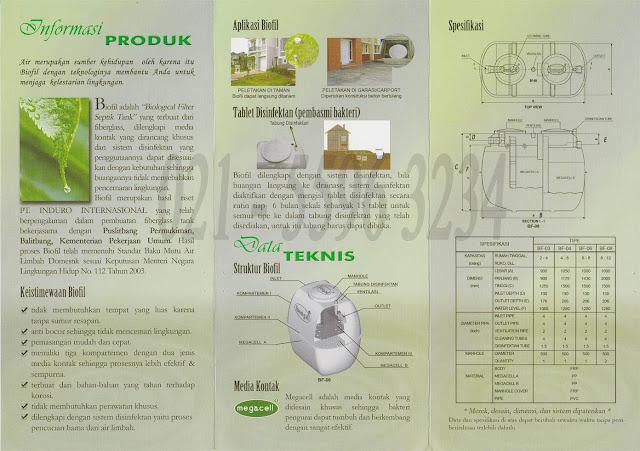 SEPTIC TANK BIOFIL, BROSUR SEPTIC TANK BIOFIL, CARA PASANG SEPTIC TANK BIOFIL, BIOTECH, BIORICH, BIOONE, BIOHITECH