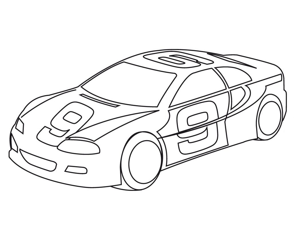 Cars luigi coloring pages - Cars To Coloring For Kids